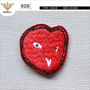 MIX-TOP-HE2138 Lovely Red Ghost Face Patch
