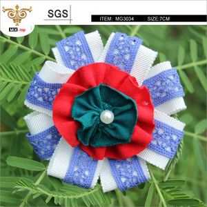 SUNSHINE-MG2320 Multi-color fabric flower