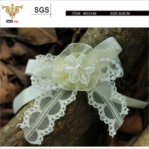 MIX-TOP-Light yellow lace floral, kid's lovely style(MG3149)
