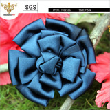 SUNSHINE-MG2186 Shine Navy satin hands flower