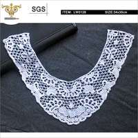 LW0128 Chemical lace, lace trim of front neck