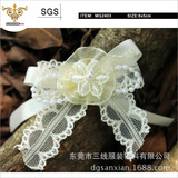 SUNSHINE-MG2403 Light yellow lace floral, kid's lovely style